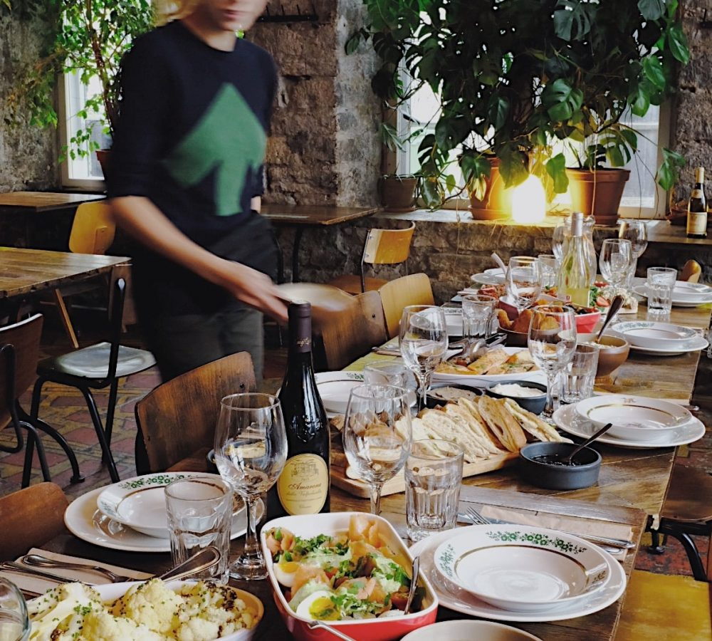 F-Hoone restaurant bar Tallinn